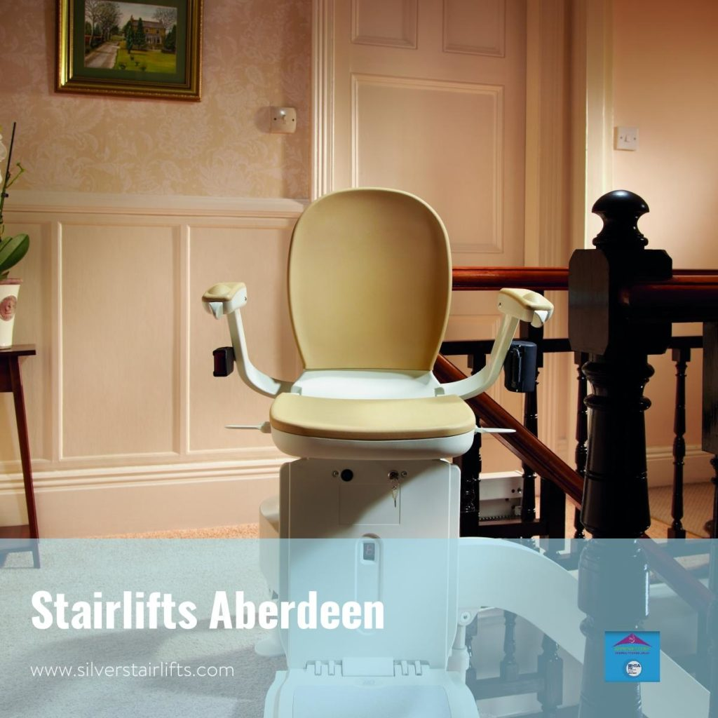 Silver Stairlifts Supplier in Aberdeen