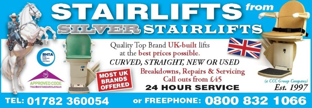 stairlifts company in Stoke